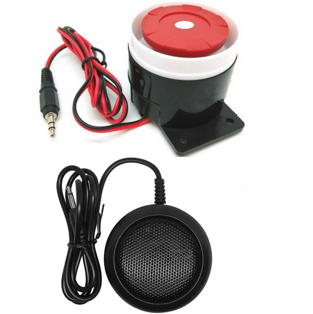 Mini Siren for Home Security Mini Horn 120db 12v
