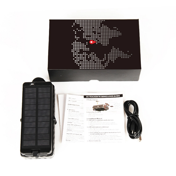 Asset Tracker with Solar Powered