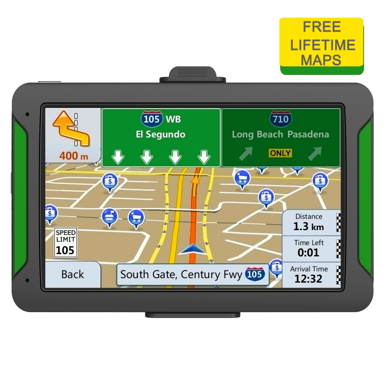 Car GPS Navigator 7inch MTK Free Map