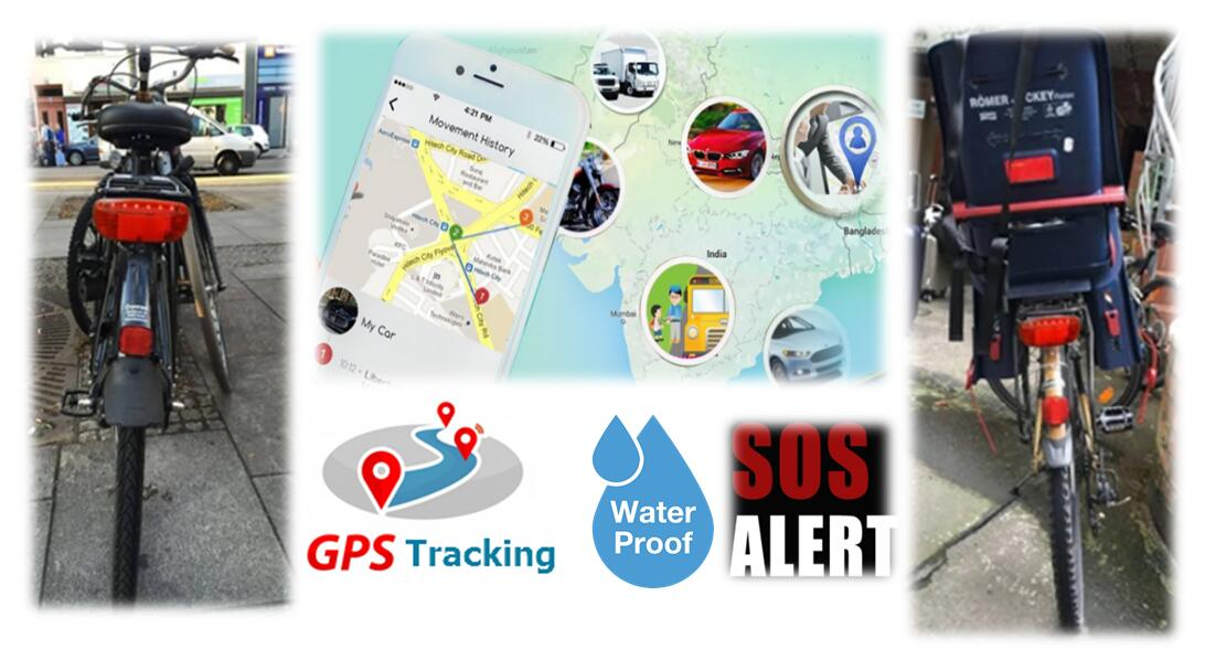 GPS Tracker for Bike Tracking Anti Theft