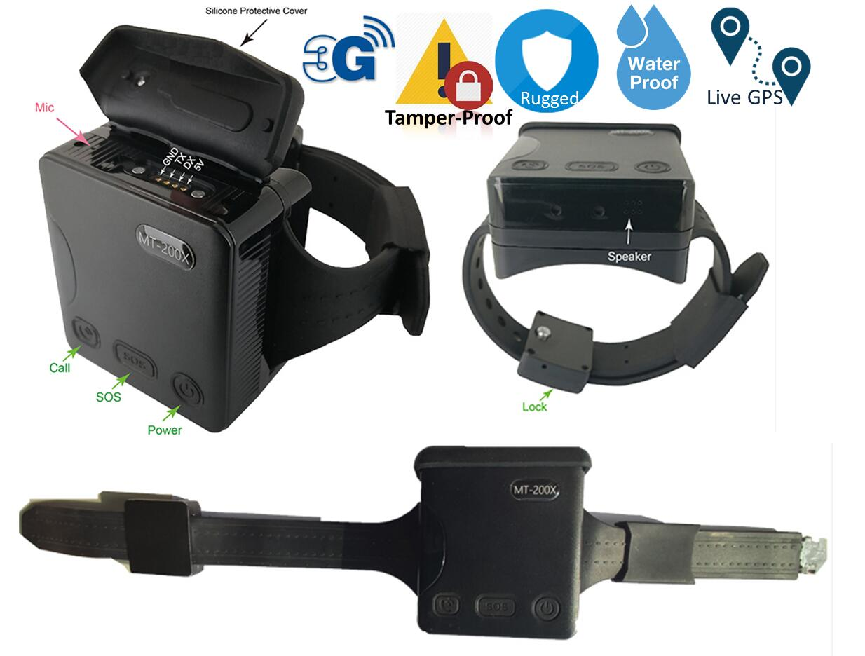 GPS Ankle Monitor For Offender,Parolee